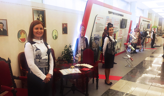 Несколько экспозиций об Удмуртии показали в Госдуме, Совете Федерации и Торгово-промышленной палате России