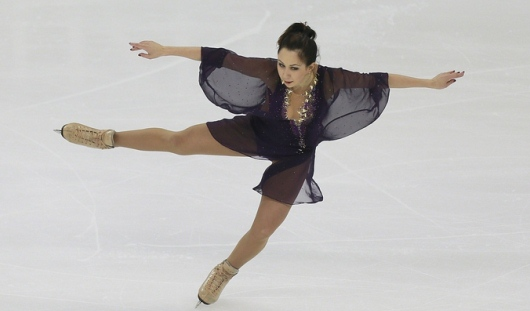 Фигуристка из Удмуртии Лиза Туктамышева занимает 7 место на этапе Гран-при в Канаде