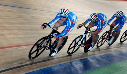Гонщики из Удмуртии выиграли первую золотую медаль Кубка мира по велоспорту на треке