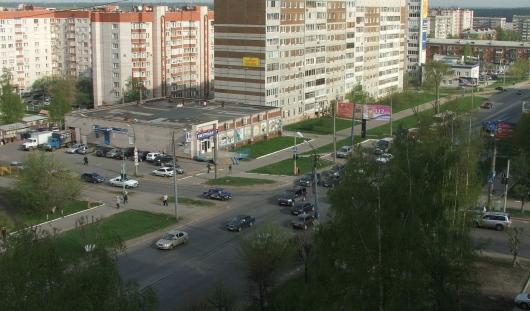 Дорожные изменения в Ижевске: изменилась схема проезда перекрестка Пушкинская – Майская