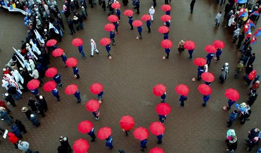 В Ижевске прошел митинг в честь Дня народного единства