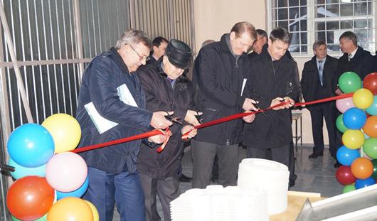 На ижевском предприятии «Спутник» открылась новая линия по производству упаковки