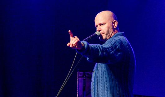 О чем горожане спрашивали певца Алексея Кортнева на концерте в Ижевске
