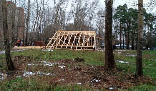 Что строят в «Козьем парке» в Ижевске?