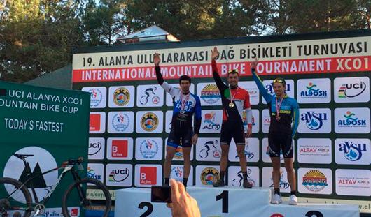 Тимофей Иванов из Ижевска стал победителем международной гонки по маунтинбайку в Турции