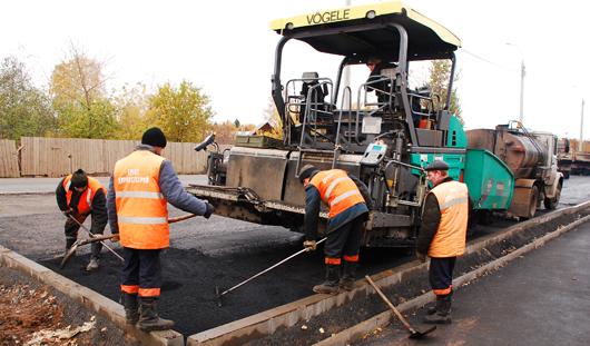 Более 55 километров дорог отремонтировали в Ижевске в 2015 году