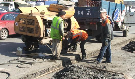 В Ижевске в 2015 году проведены работы по ремонту объектов улично-дорожной сети