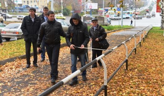 По программе «Доступная среда» в Ижевске отремонтировали 3000 кв. метров тротуаров