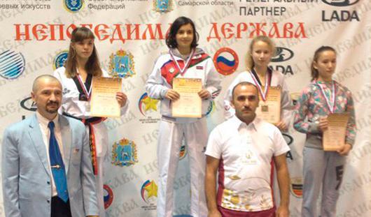 Ижевские тхэквондисты вернулись с медалями с фестиваля единоборств