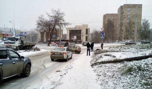В Ижевске неопытный водитель насмерть сбил пешехода