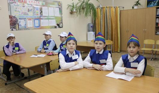 К Дню памяти жертв ДТП в школах Ижевска прошел конкурс на знание правил дорожного движения