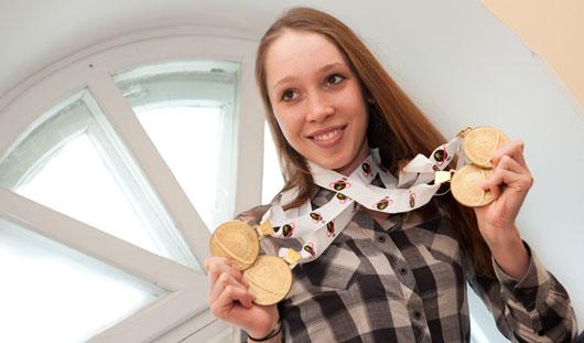 Биатлонистка из Удмуртии Ульяна Кайшева в составе женской сборной России готовится к сезону