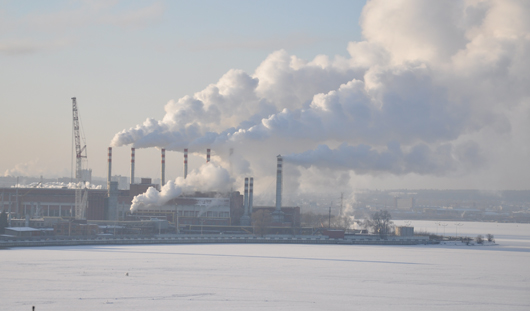 Ижевчан просят не выходить на лед в период ледостава