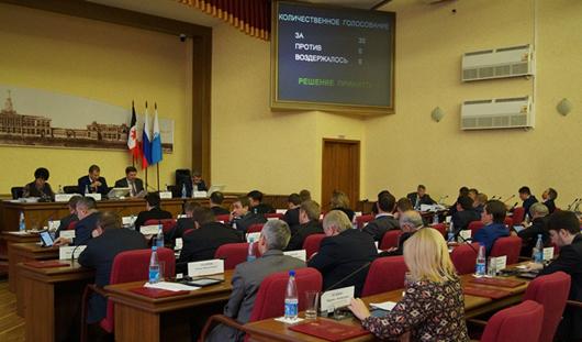 Депутаты Гордумы Ижевска внесли изменения в городской бюджет