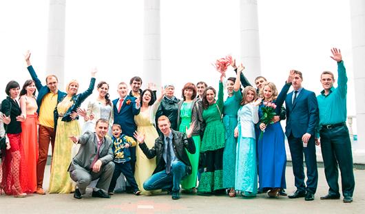 В Ижевске выбирают лучшую свадьбу города