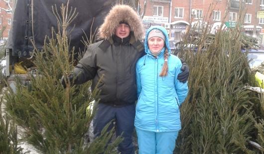 Новогодние елки в Ижевске начнут продавать 15 декабря