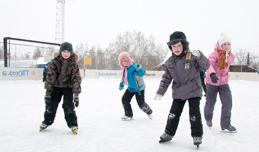 В Ижевске будут работать 37 хоккейных коробок и 11 катков