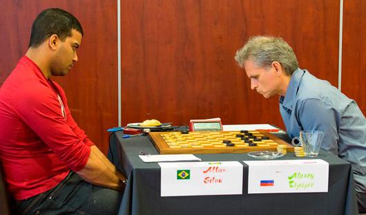 Ижевчанин Алексей Чижов остался за чертой призеров на Чемпионате Мира по международным шашкам