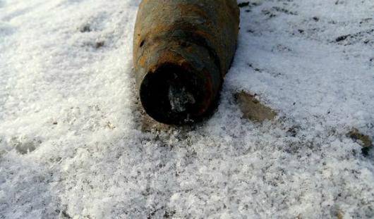 Около села Ягул в Удмуртии нашли боевой снаряд