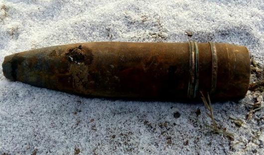 Снаряд, обнаруженный около села Ягул в Удмуртии, оказался «болванкой»