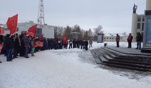 В Ижевске прошел митинг дальнобойщиков