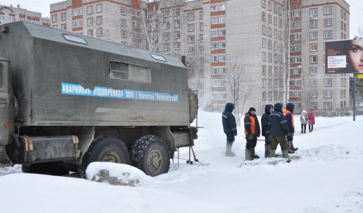 В Ленинском районе города Ижевска из-за аварии пропадало электричество, отопление и горячая вода