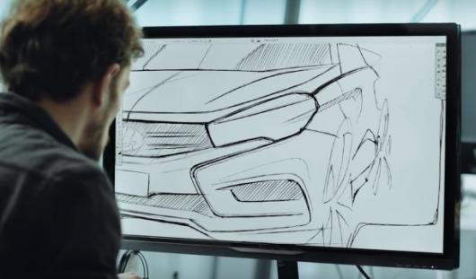 В Интернете появился рекламный ролик ижевской Lada Vesta