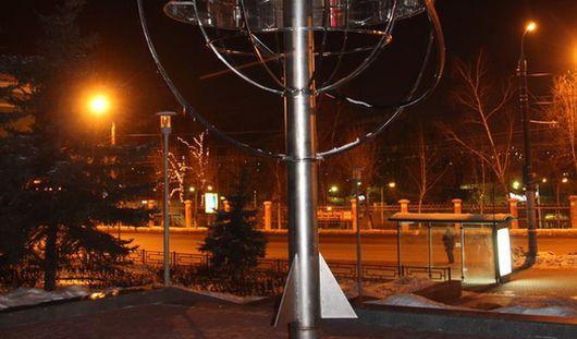 В Ижевске появился памятник ракете