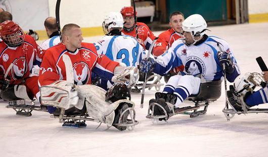 Следж-хоккеисты Удмуртии стали бронзовыми призерами международных соревнований в Ханты-Мансийске