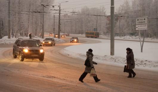 С 7 по 9 декабря в Ижевске ожидаются снежные заносы и гололедица