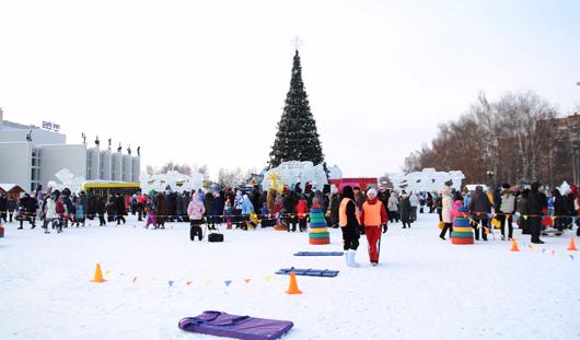 Главная елка Ижевска откроется 15 декабря