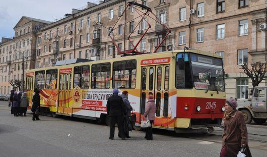 В Ижевске на улице Гагарина частично восстановили движение трамваев