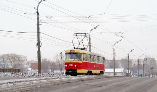 В Ижевске на улице Гагарина полностью восстановили движение трамваев