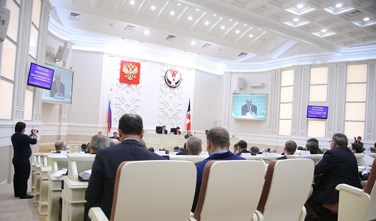 Бюджет Удмуртии и правительственный час Алексея Чуршина
