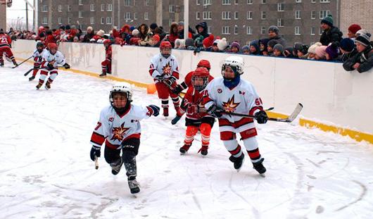 Новая хоккейная коробка появилась в Ижевске