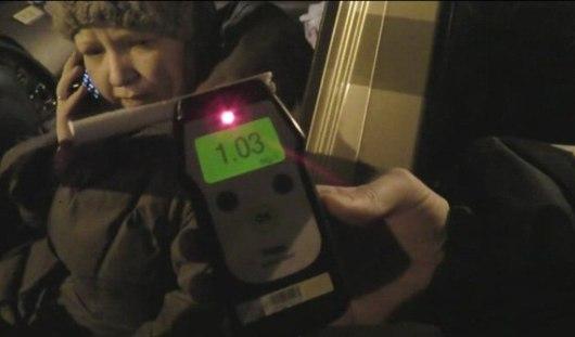 На канале НТВ «засветилась» пьяная женщина-водитель из Ижевска