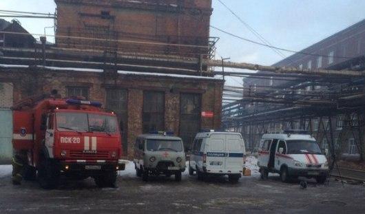 Мебельная фабрика в Ижевске загорелась из-за короткого замыкания