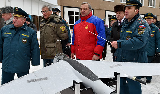 В Удмуртии в 2016 году начнут строить Центр беспилотной авиации МЧС