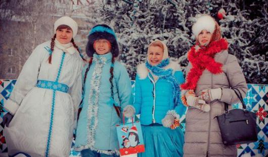В Ижевске пройдет флешмоб Снегурочек