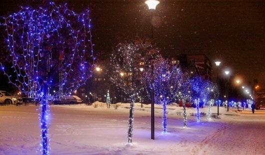 Новогодний Ижевск: как город готовится встретить наступающие праздники