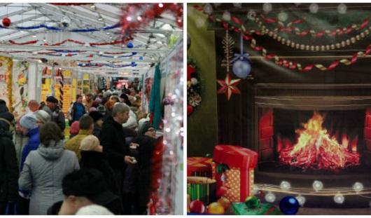 Родителям – покупки, детям – развлечения: в Ижевске продолжается Новогодняя ярмарка