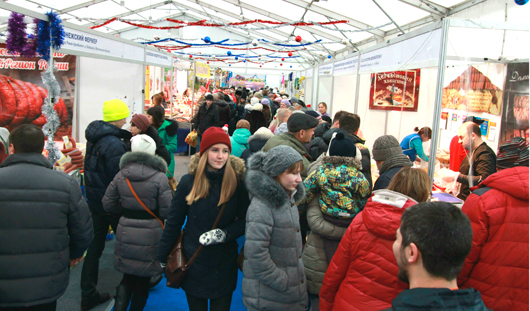 Новогоднюю ярмарку в Ижевске посетило 39 тысяч человек