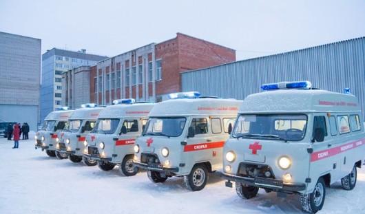 Благотворительный фонд Михаила Гуцериева подарил Удмуртии 5 автомобилей «скорой»