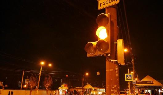 Дорожные изменения в Ижевске: поставили светофор рядом с Железнодорожным вокзалом
