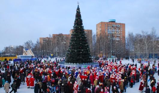 Во сколько в Ижевске начнется Новогодний салют?