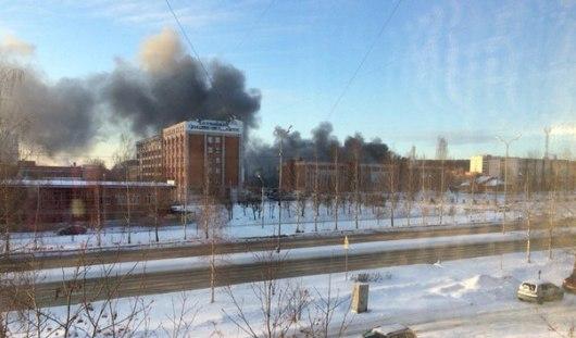 Причиной пожара в Республиканском детском доме в Ижевске стала детская шалость