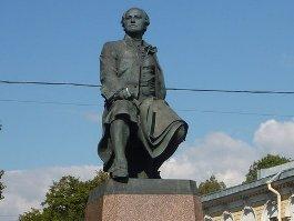 В Ижевске откроют 3-х метровый памятник Ломоносову