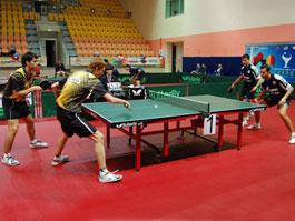 Спортсмены из Удмуртии успешно выступили на чемпионате России по настольному теннису