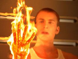 В Ижевске на мужчине воспламенилась одежда