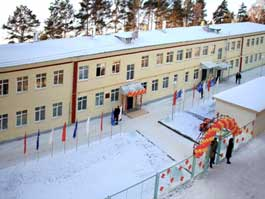 В пострадавшем от взрывов Пугачево открылся отремонтированный детский сад